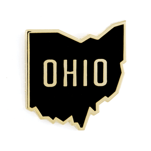 Ohio Enamel Pin