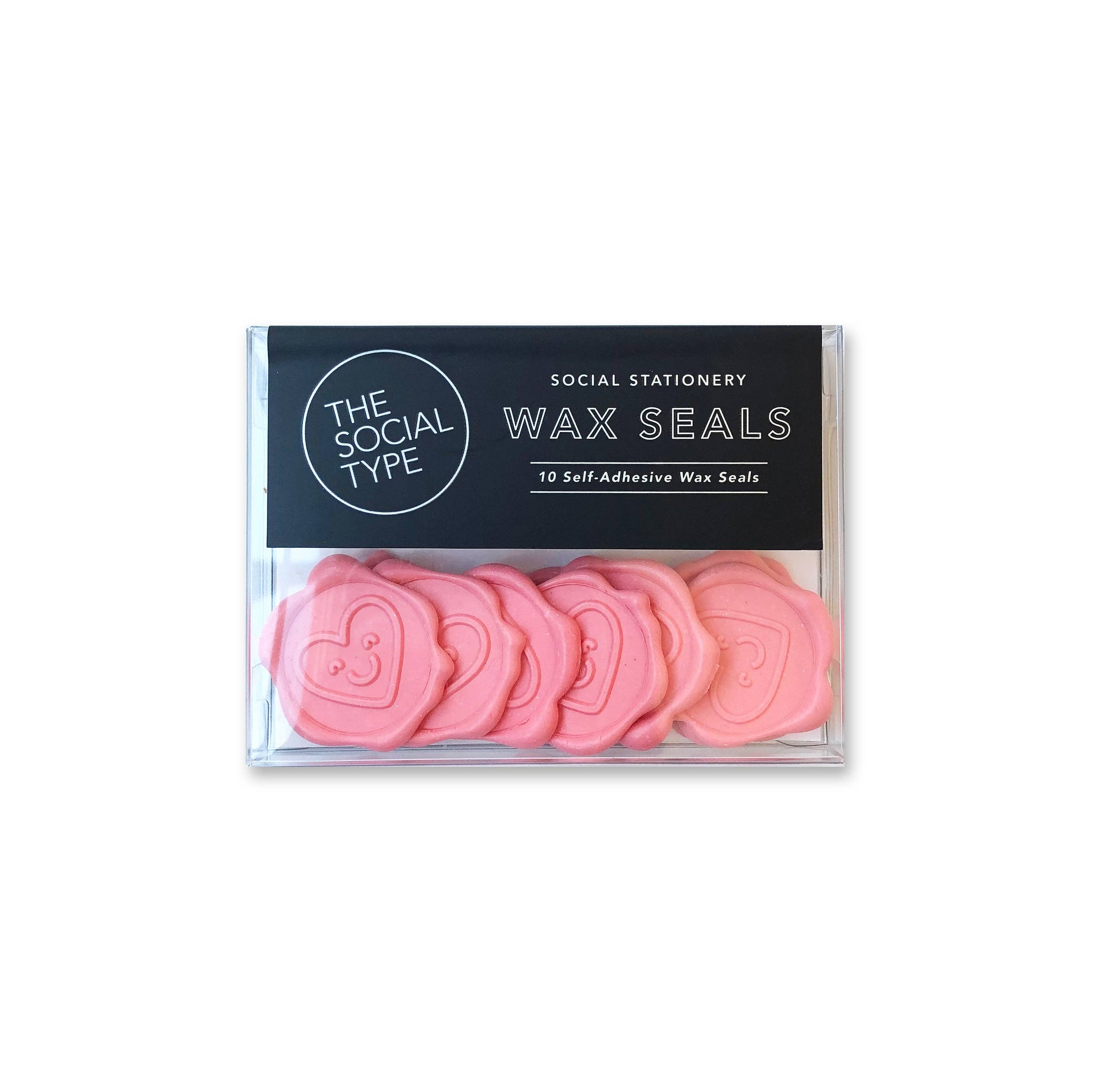 Smiley Heart Wax Seals