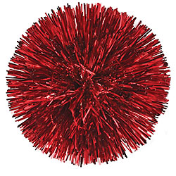 Tinsel Bow Red