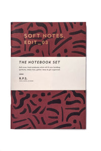 Soft Notebook Set- Lined