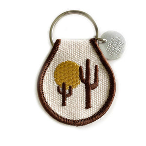 Desert Vibes Patch Keychain