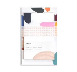 Francis Desk Art Notepad Set