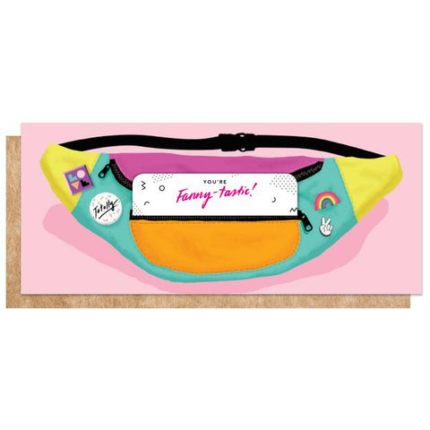 Fanny Pack/Gift Card Holder