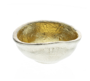 Strada Organic Cast Metal Bowl