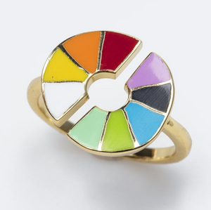 Color Wheel Adjustable Ring