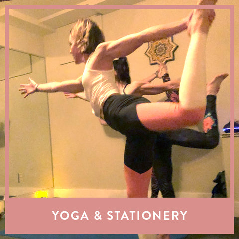 Yoga & Stationery  - November 2
