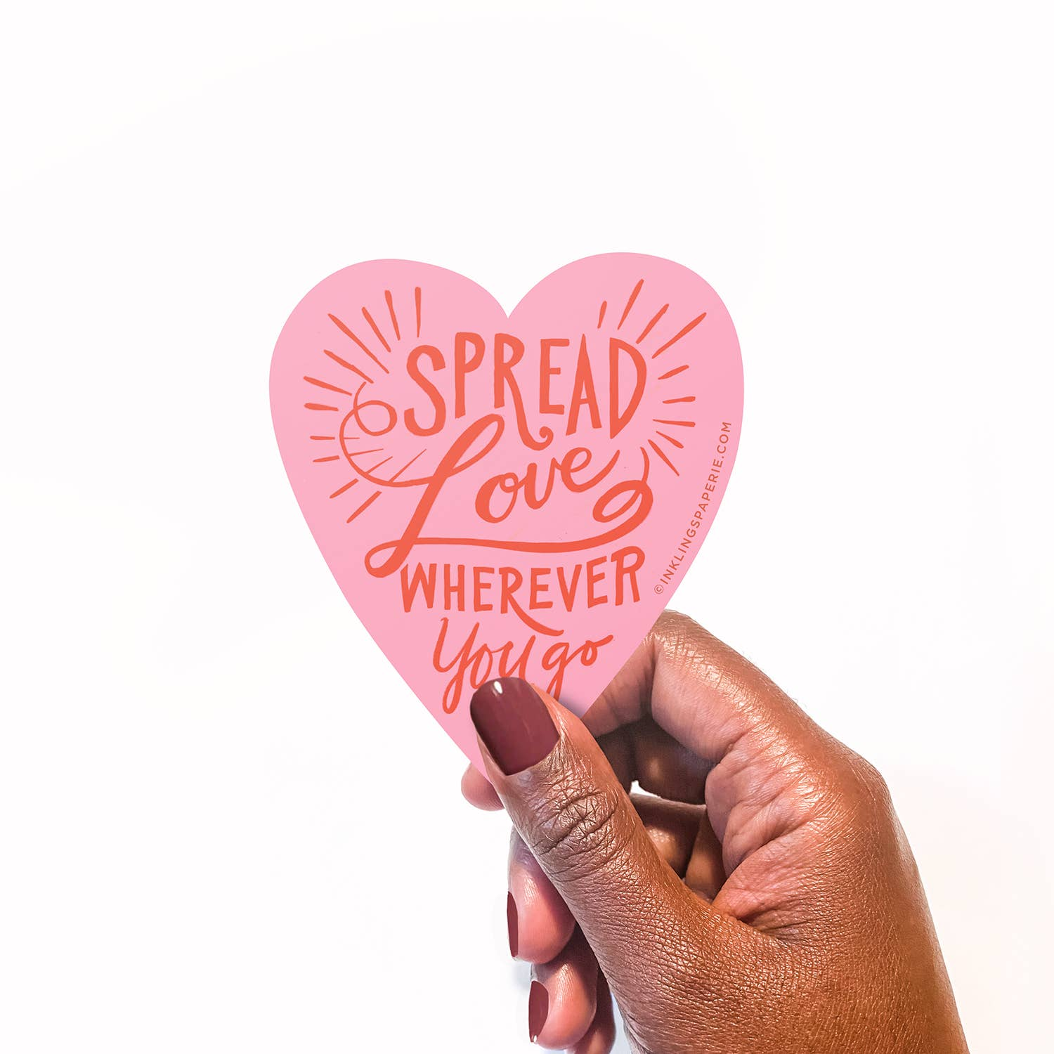 Spread Love Vinyl Sticker