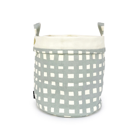 Flores Recycled Canvas Bucket Large
