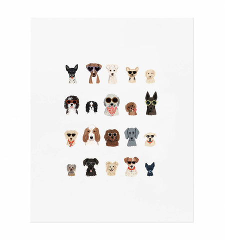Dog Days Of Summer Art Print (8x10)