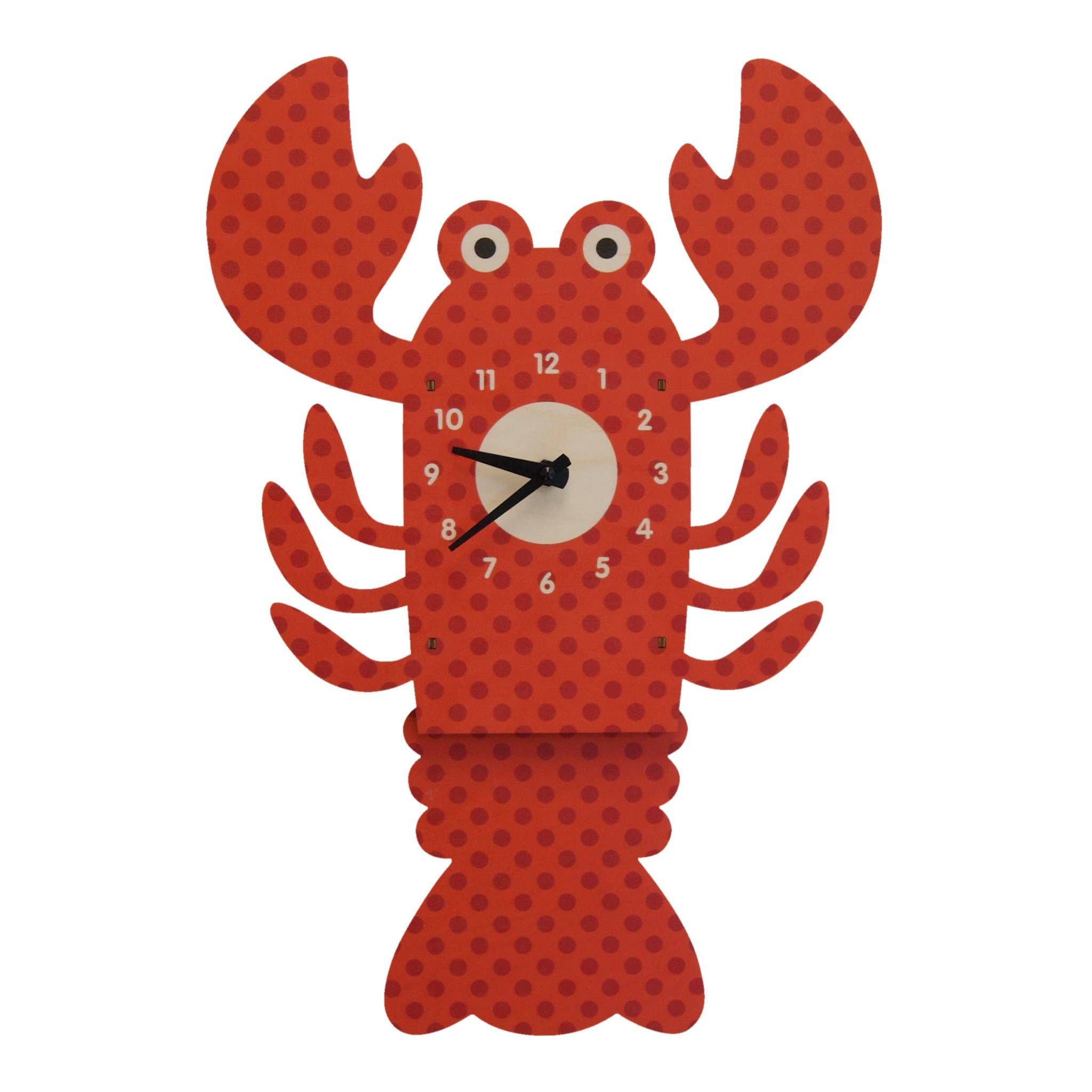 Modern Moose - Lobster Pendulum Clock