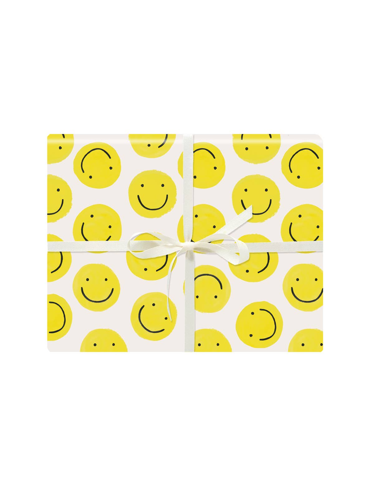 Smiley Gift Wrap Roll
