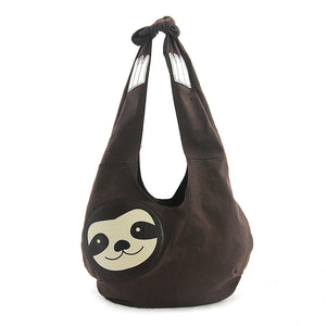 Hang Loose Sloth Hobo Bag