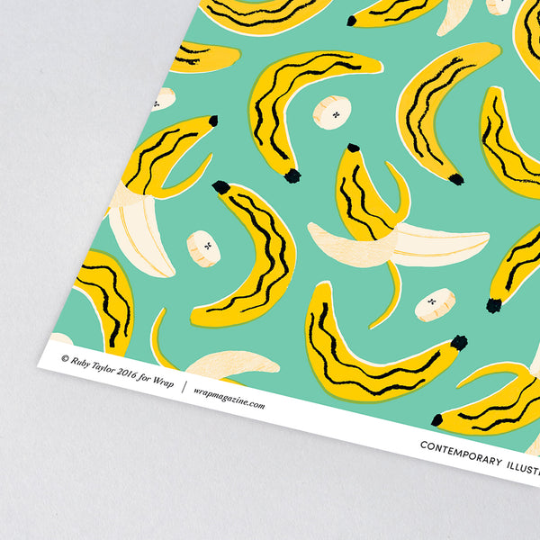 'Bananas' Gift Wrap