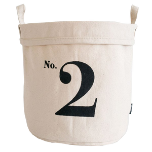 No. 2 Recycled Canvas Bucket Small
