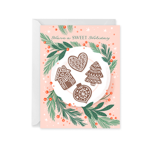 Paper Raven Co. - Holiday Cookies Card
