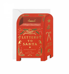 Letters To Santa Card