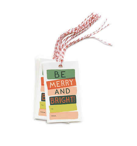 Be Merry & Bright Gift Tag