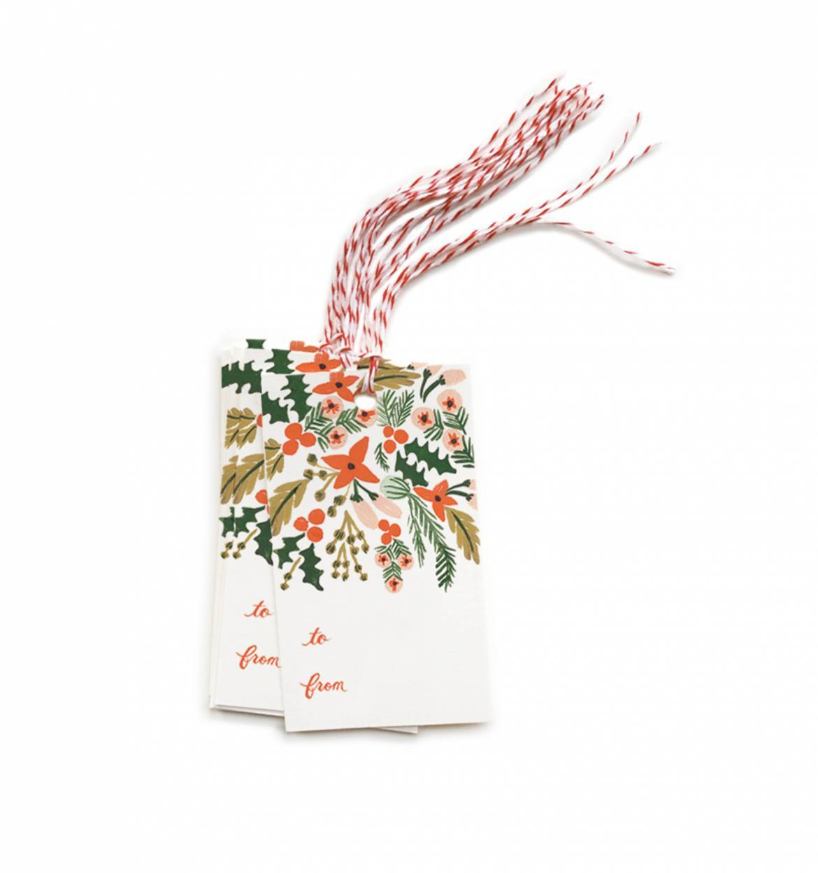 Winter Berries Gift Tag