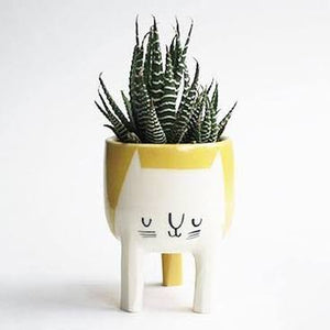 Three Legged Cat Planter
