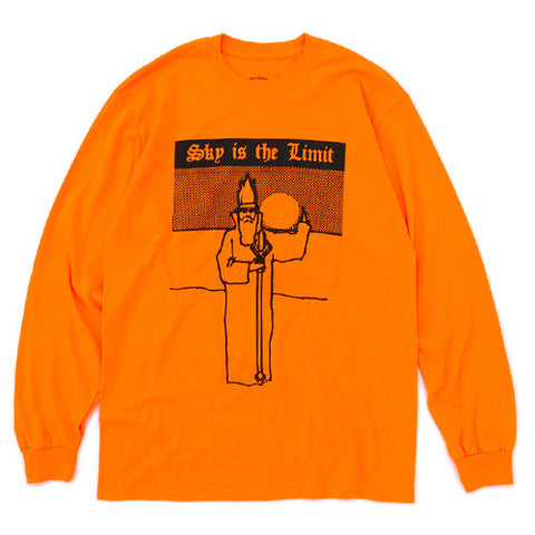 Good Morning Tapes - GMT11 Sky Is The Limit LS Tee - Orange
