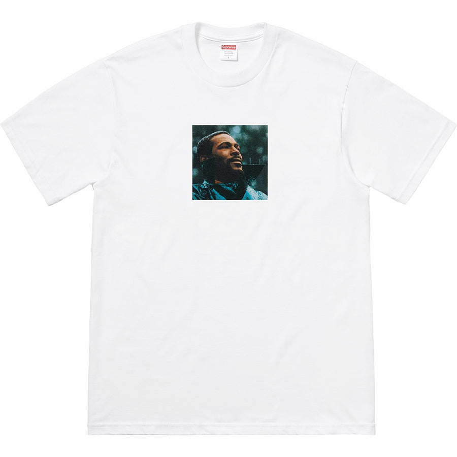 Supreme x Marvin Gaye Tee - White