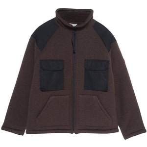 Cav Empt - Boa Fleece Jacket - Olive/Black