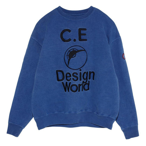 Cav Empt - Design World Sweatshirt - Blue