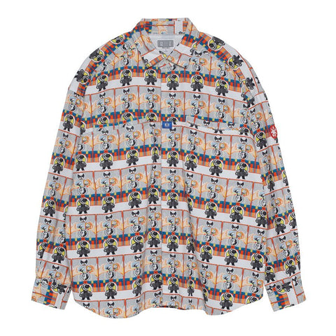 Cav Empt - MD QC Design Big Shirt - Multi