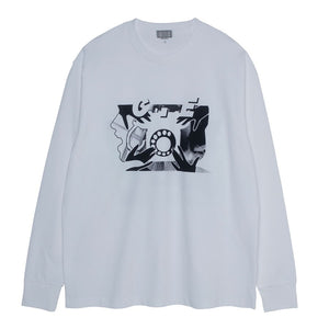 Cav Empt - Rotary Dial LS Tee - White