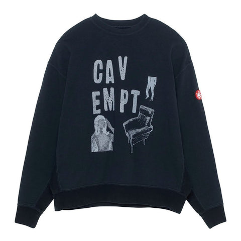 Cav Empt - Chair Sweatshirt - Black