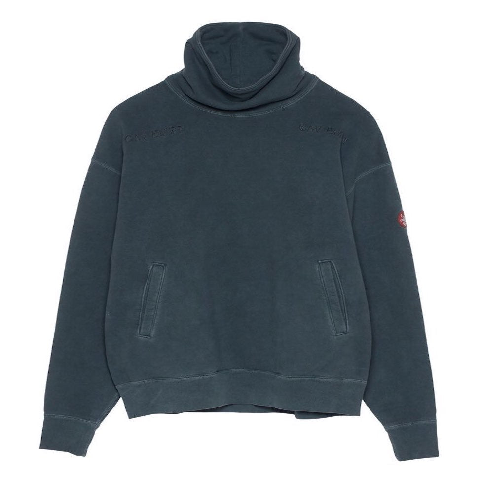 Cav Empt - Forest Stand Collar Sweat - Charcoal