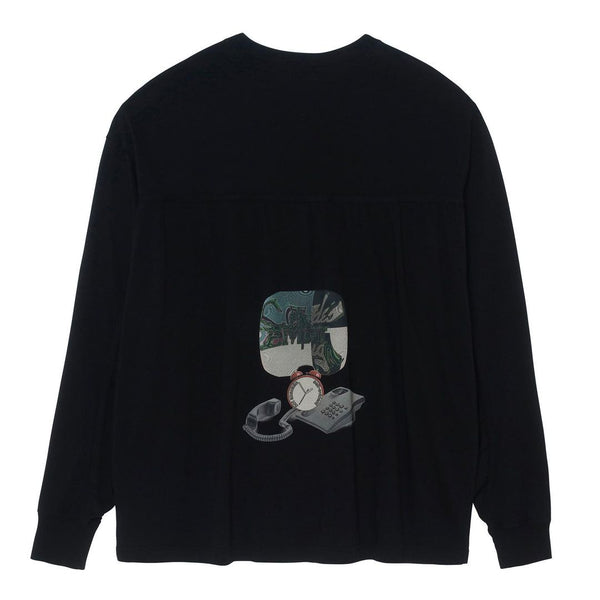 Cav Empt - MD Decentre LS Tee - Black