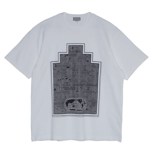 Cav Empt - World Ziggurat Tee - White