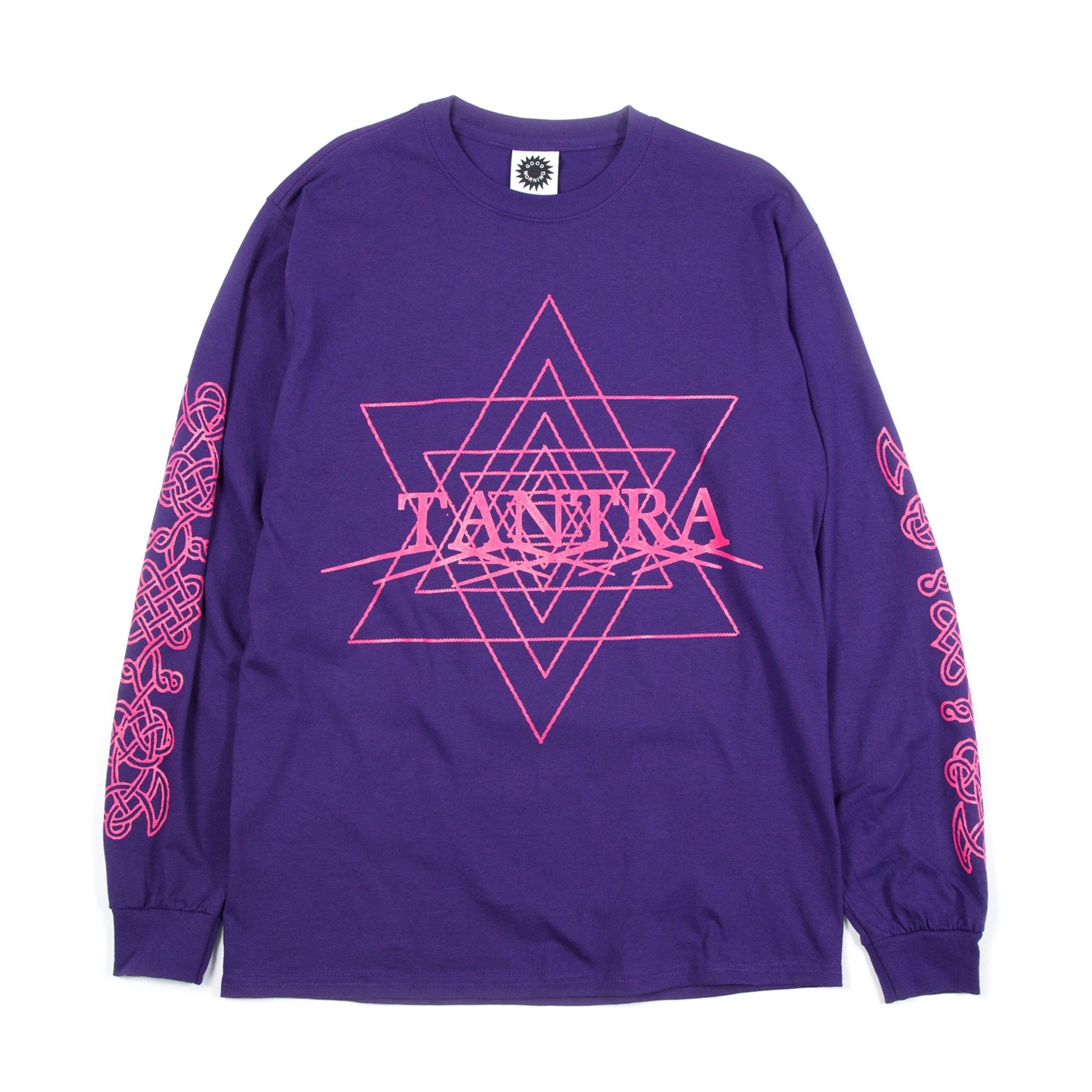 Good Morning Tapes - Tantra LS Tee - Purple