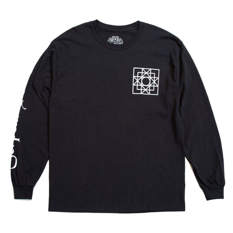Good Morning Tapes - GMT13 Serpent Power LS Tee - Black