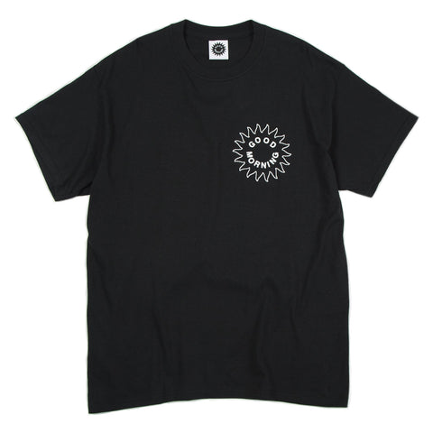 Good Morning Tapes - Sun Logo Tee - Black