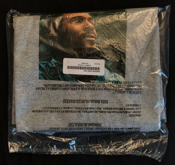 Supreme x Marvin Gaye Tee - Grey