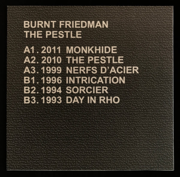 "LTNC010 - Burnt Friedman - The Pestle - 12"" Vinyl"