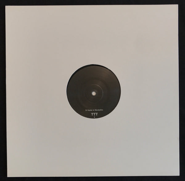 "TTT011 - DJ Spider & Marshallito - Deadly Structures - 12"" Vinyl"