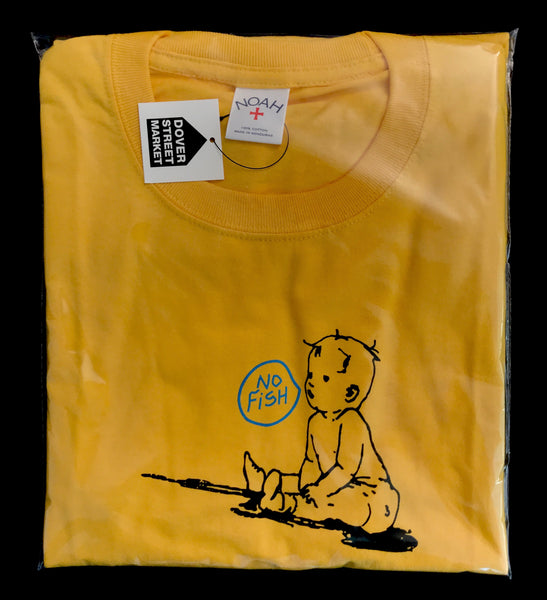 NOAH - No Fish Tee - Yellow
