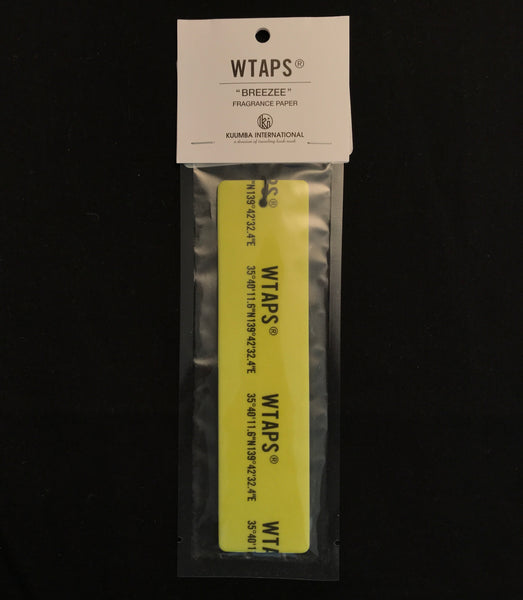 WTAPS x Kuumba Breeze Fragrance - Yellow