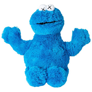 Uniqlo x Kaws - Cookie Monster (Sesame Street) Toy