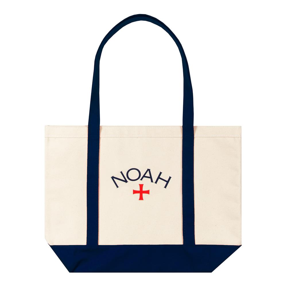 NOAH - Core Logo Tote Bag - Navy