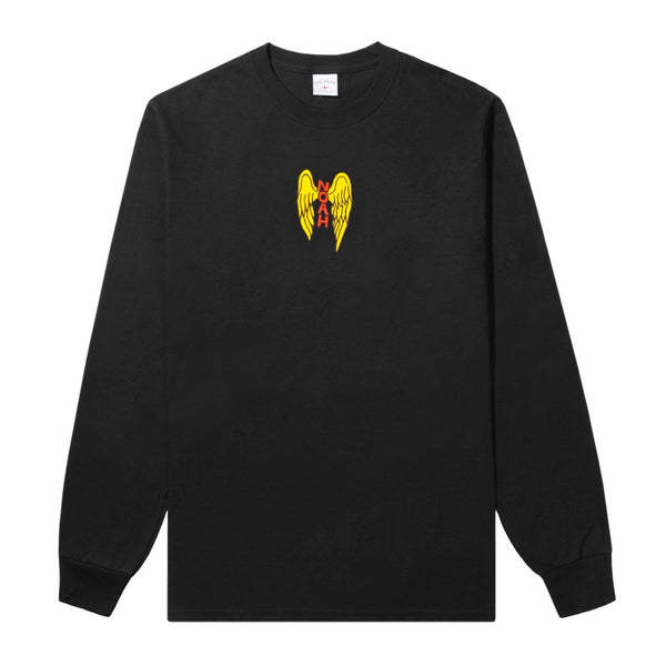 NOAH - Heaven Sent LS Tee - Black