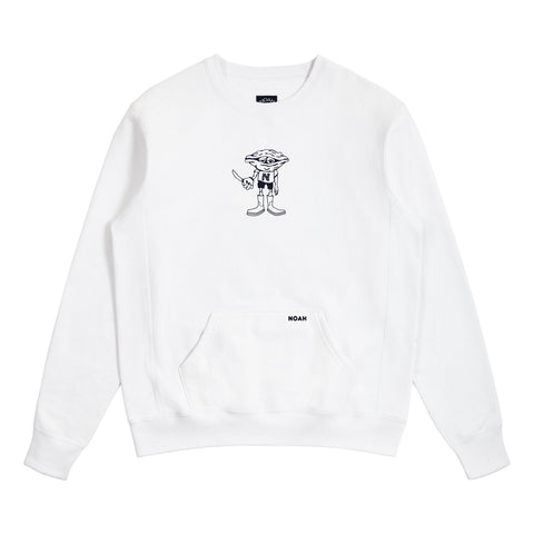 NOAH - Oysterman Sweatshirt - White