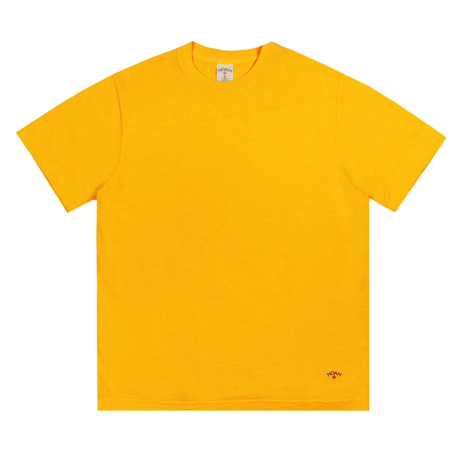NOAH - Recycled Cotton Tee - Gold