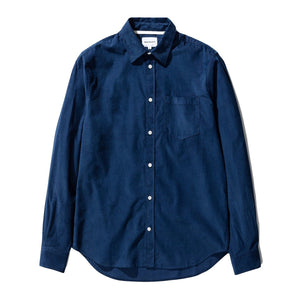 Norse Projects - Osvald Corduroy Shirt - Dark Navy