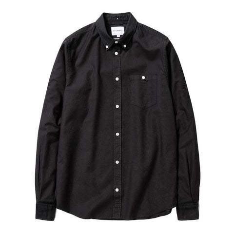 Norse Projects - Anton Oxford Shirt - Black