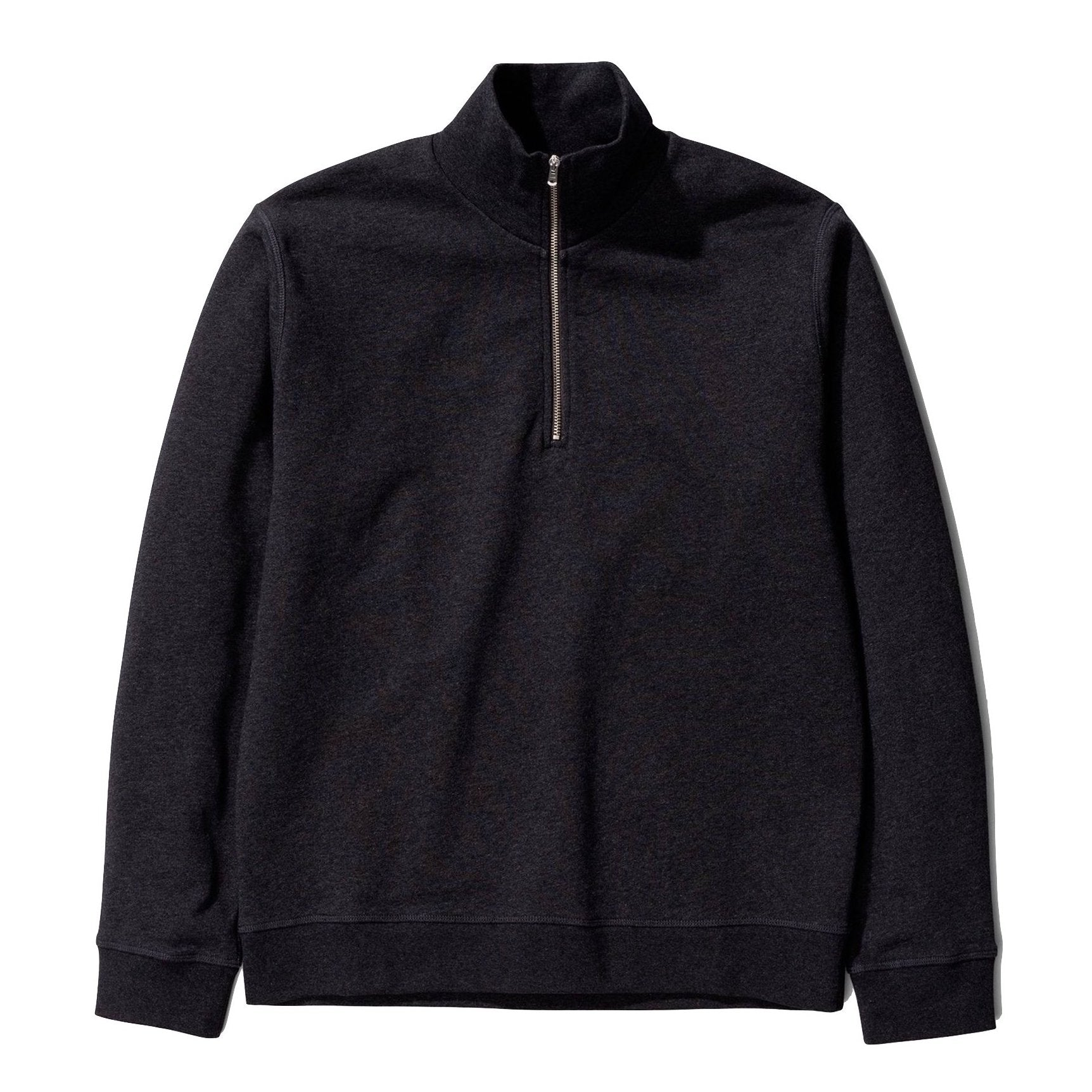 Norse Projects - Fjord Coolmax Sweat - Charcoal Melange