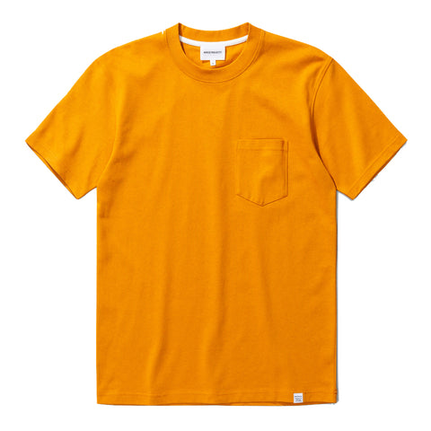 Norse Projects - Johannes Pocket Tee - Orange